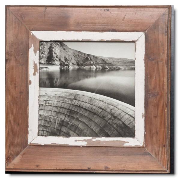 Altholz Bilderrahmen Quadrat aus Südafrika