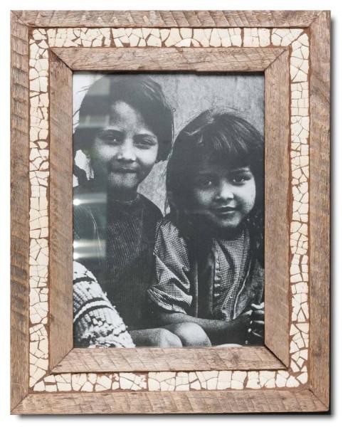 Wechselrahmen Straußenei-Mosaik für Bildformat 29,7 x 21 cm