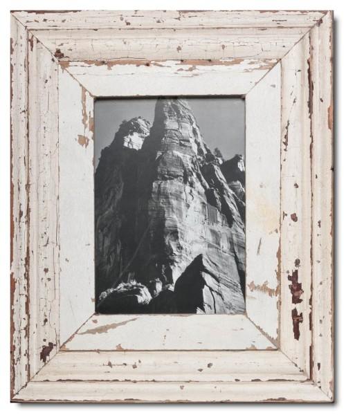 Breiter Bilderrahmen aus recyceltem Holz aus Kapstadt