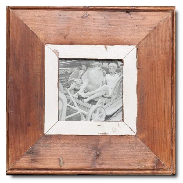 Altholz Bilderrahmen Quadrat für Bildgröße 10,5 x 10,5