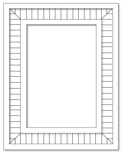 Spiegel - 43x55 - A3 Mosaik