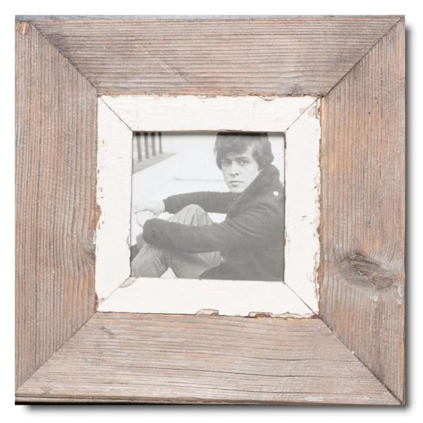 Quadratischer Vintage Bilderrahmen für Fotoformat 10,5 x 10,5 aus Südafrika