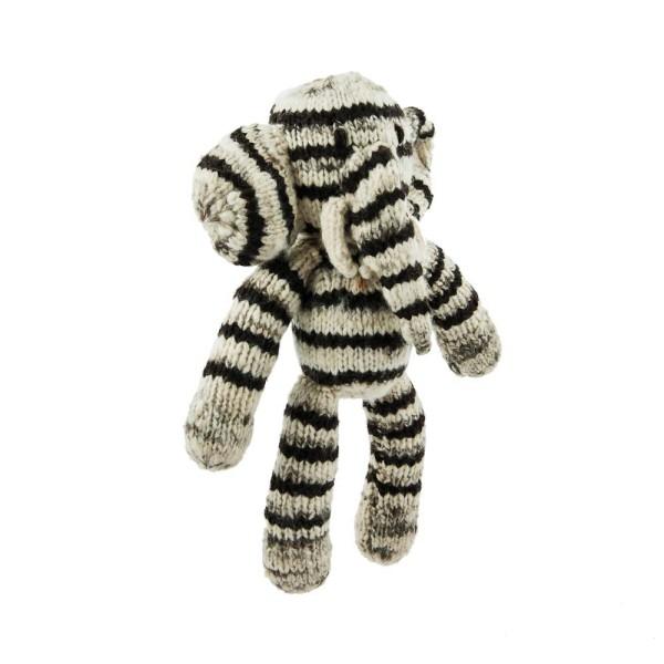 Gestreifter Woll-Elefant