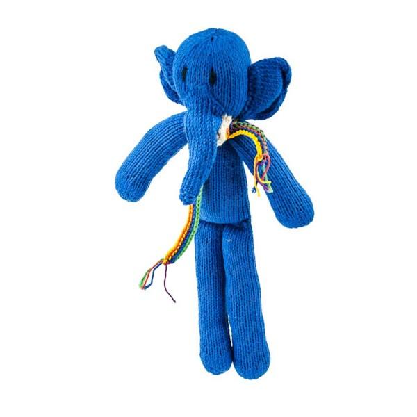Königsblauer Elefant