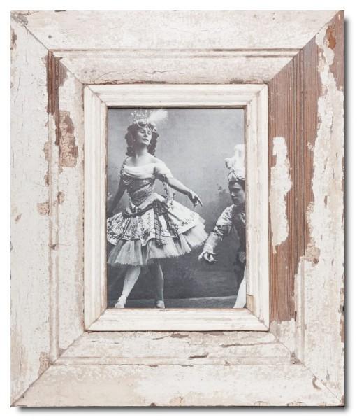 Breiter Altholz Bilderrahmen für Bildformat 21 x 14,8 cm