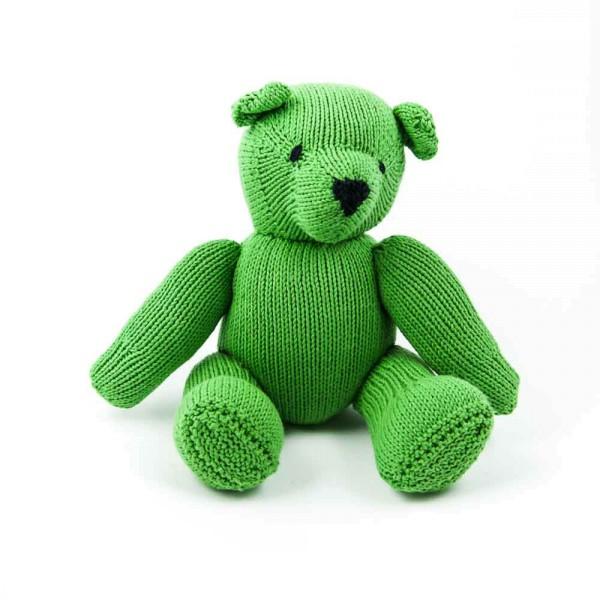 Hellgrüner Teddybär