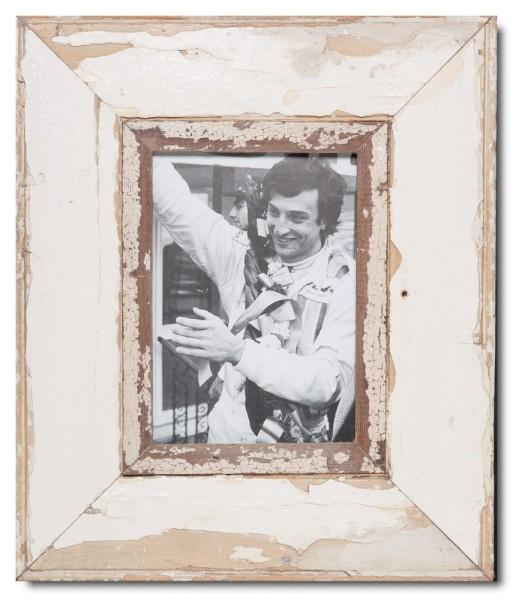 Breiter Bilderrahmen aus recyceltem Holz von Luna Designs
