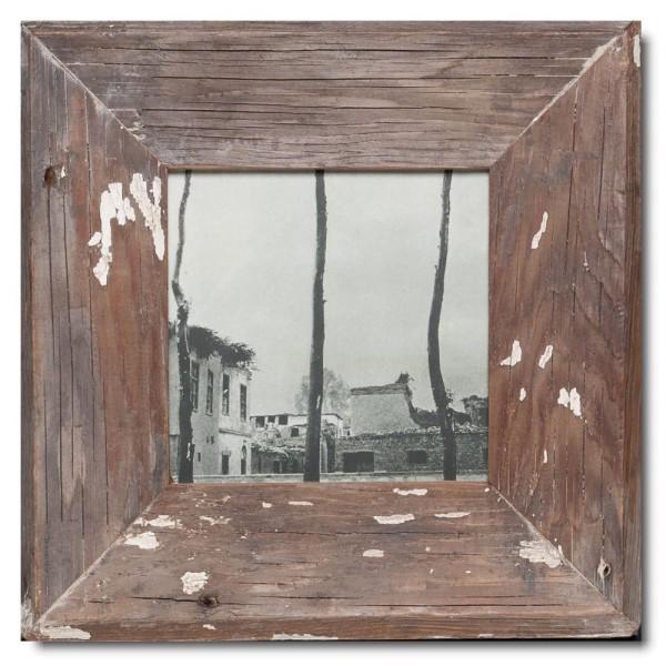 Quadratischer Vintage Bilderrahmen für Fotoformat DIN A5 Quadrat aus Südafrika
