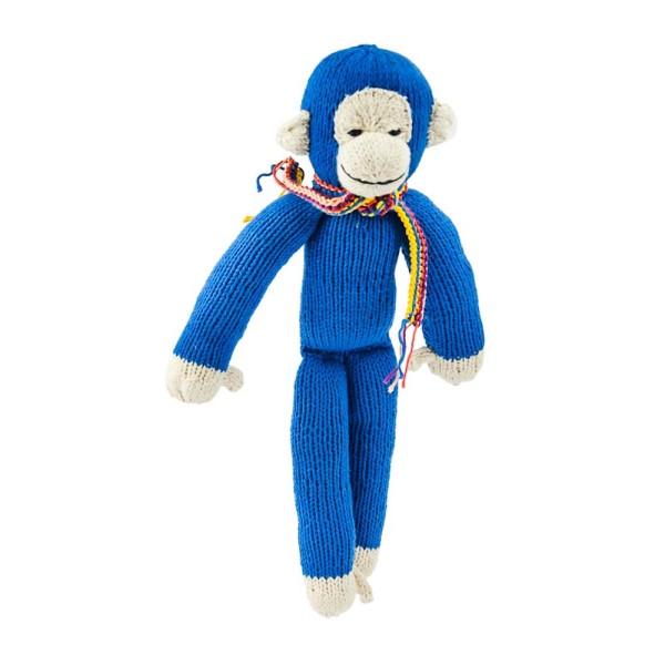 Königsblauer Affe
