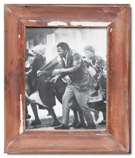 Basic Bilderrahmen aus recyceltem Holz für Bildgröße 20 x 25 cm