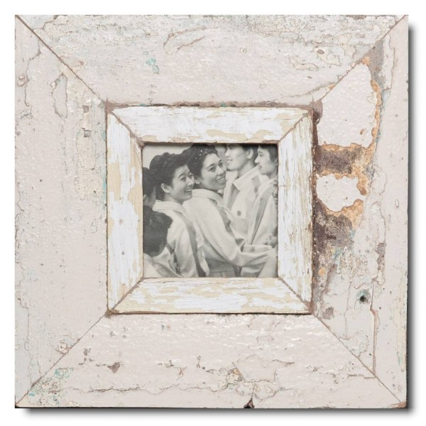 Altholz Bilderrahmen Quadrat für Fotogröße 10,5 x 10,5