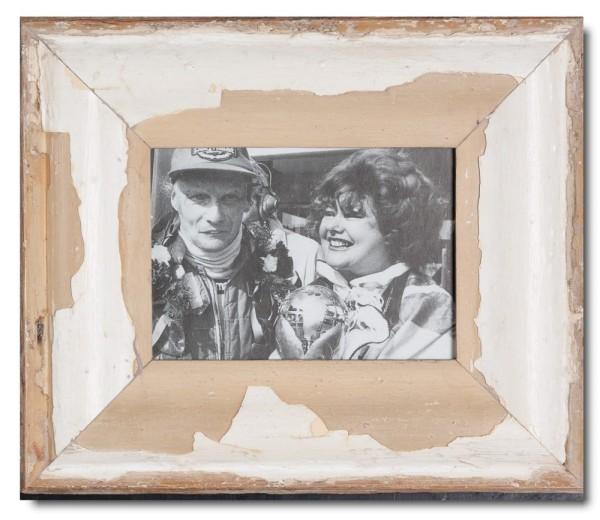 Vintage Bilderrahmen mit breitem Rand für Bildgröße DIN A5