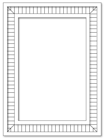 Spiegel - 55x74 - A2 Mosaik