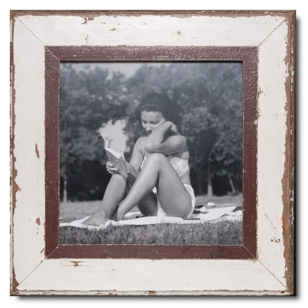 Altholz Bilderrahmen Quadrat für Bildformat DIN A3 Quadrat aus Südafrika