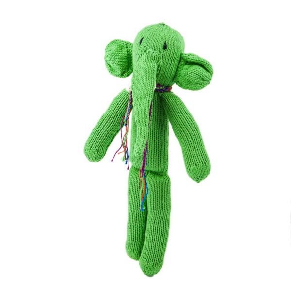 Hellgrüner Elefant