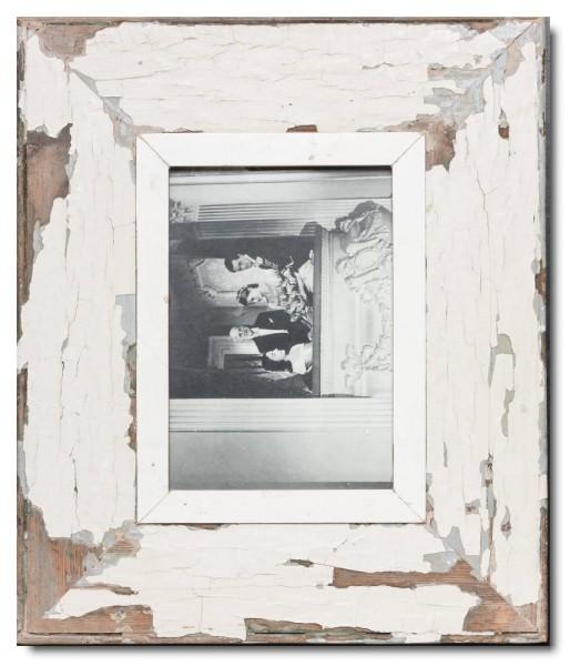 Breiter Bilderrahmen aus recyceltem Holz für Fotoformat 21 x 14,8 cm von Luna Designs