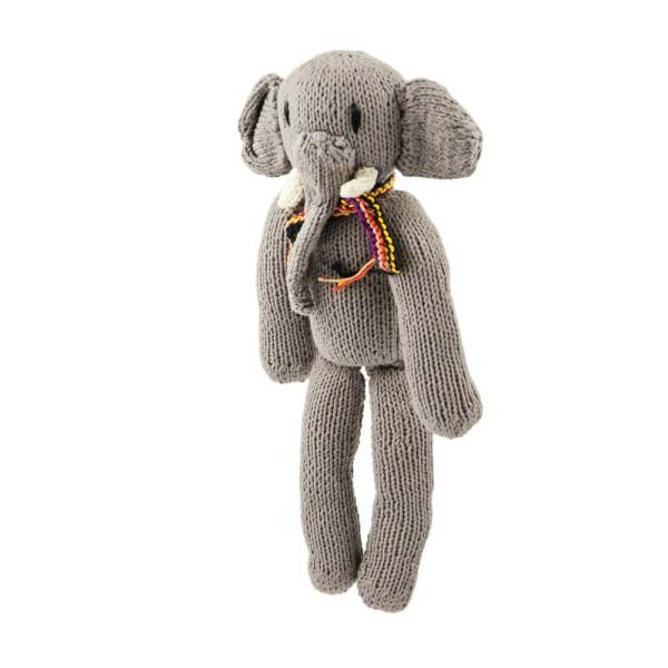 Hellgrauer Elefant
