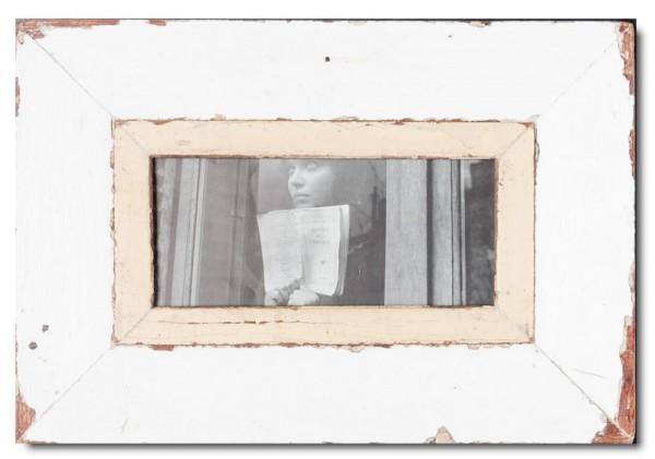 Panorama Bilderrahmen aus recyceltem Holz für Fotoformat DIN A5 Panorama aus Südafrika