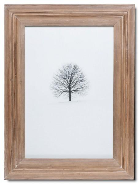 Bilderrahmen aus recyceltem Holz für Bildformat 29,7 x 42 cm aus Kapstadt