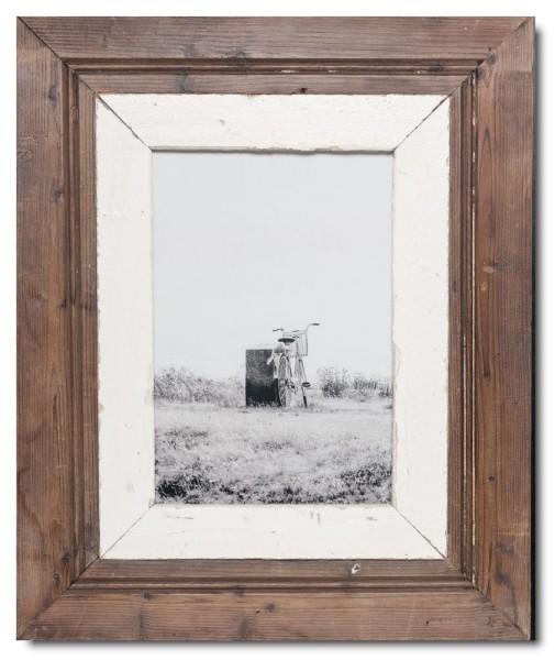 Breiter Altholz Bilderrahmen für Fotoformat DIN A4