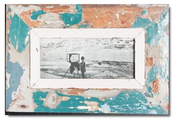 Altholz Bilderrahmen Panorama für Bildgröße 21 x 10,5 cm aus Südafrika