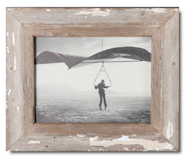 Basic Bilderrahmen aus recyceltem Holz für Bildgröße 15 x 20 cm