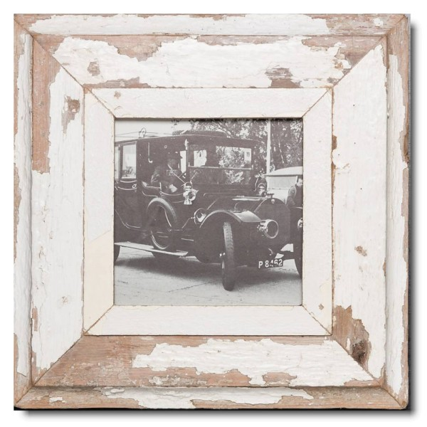 Altholz Bilderrahmen Quadrat für Fotogröße 14,8 x 14,8 von Luna Designs