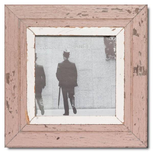Quadratischer Vintage Bilderrahmen für Bildgröße DIN A4 Quadrat
