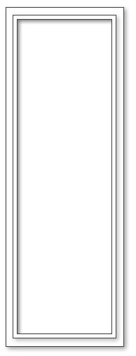 Spiegel - 63x184 - XL