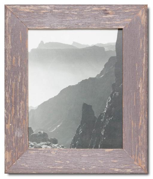 Basic Altholz Bilderrahmen für Bildgröße 20 x 25 cm von Luna Designs