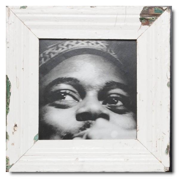 Quadratischer Vintage Bilderrahmen für Fotogröße DIN A4 Quadrat aus Südafrika