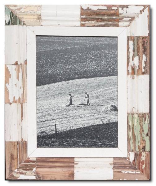 Mosaik Altholz Bilderrahmen von Luna Designs