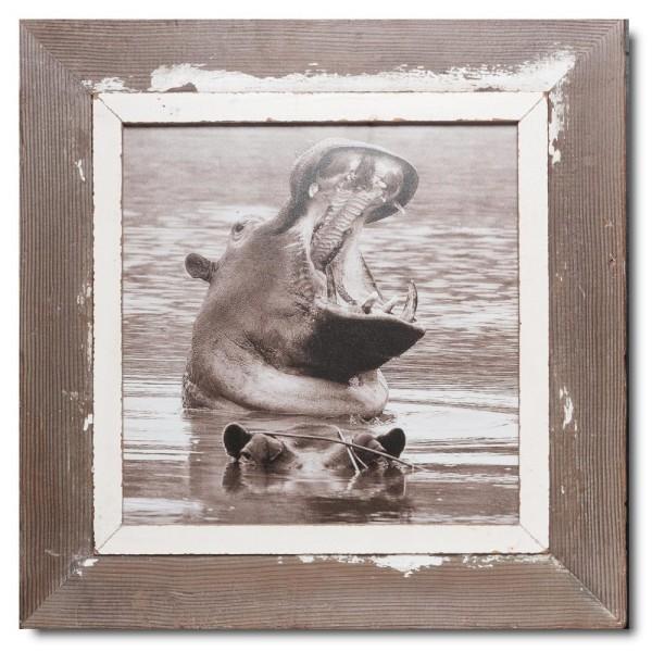 Quadratischer Vintage Bilderrahmen für Fotogröße 29,7 x 29,7 von Luna Designs