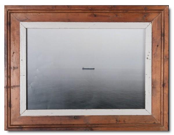 Bilderrahmen aus recyceltem Holz für Bildformat 29,7 x 42 cm