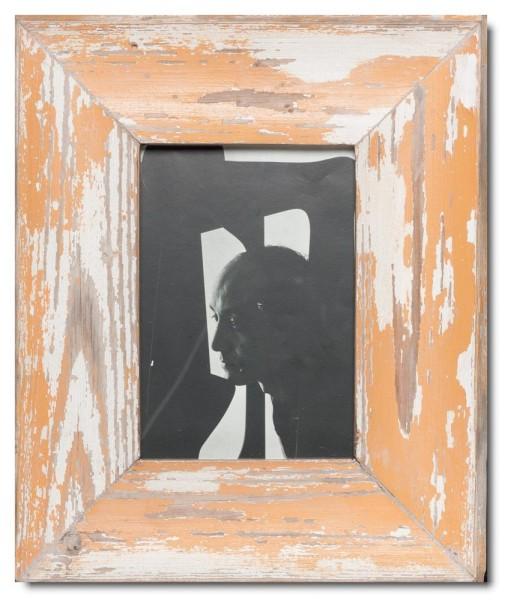 Breiter Altholz Bilderrahmen für Bildgröße 21 x 14,8 cm aus Südafrika