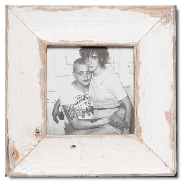 Quadrat Bilderrahmen aus recyceltem Holz von Luna Designs