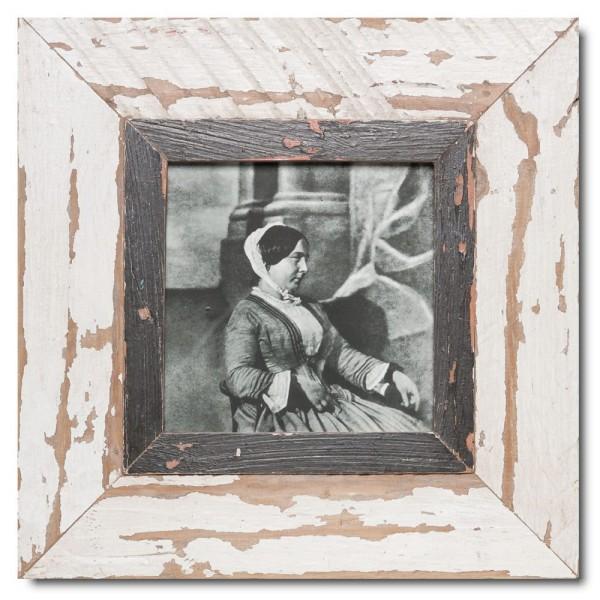 Altholz Bilderrahmen Quadrat für Bildgröße DIN A5 Quadrat von Luna Designs