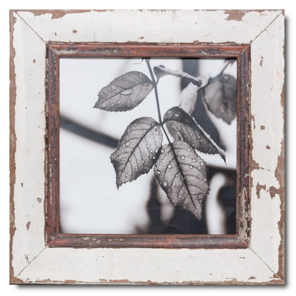 Altholz Bilderrahmen Quadrat für Fotogröße DIN A3 Quadrat