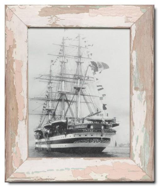 Vintage Bilderrahmen Basic für Bildgröße 20 x 25 cm aus Südafrika