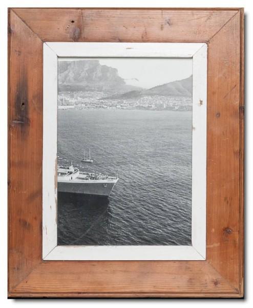 Bilderrahmen aus recyceltem Holz für Bildformat 21 x 29,7 cm von Luna Designs