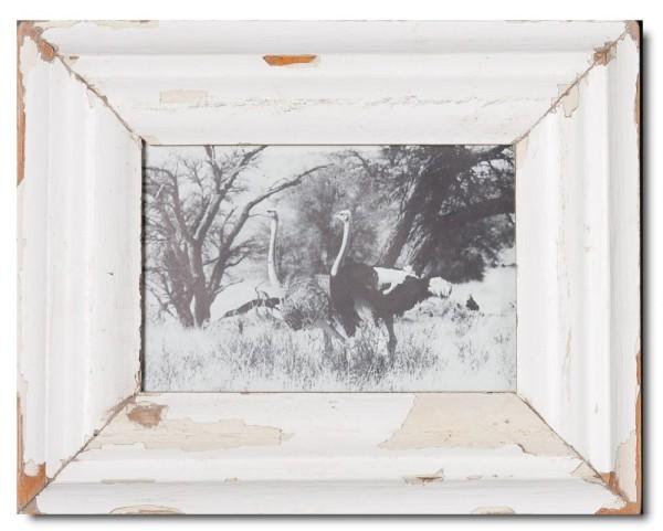 Bilderrahmen aus recyceltem Holz für Bildformat DIN A5