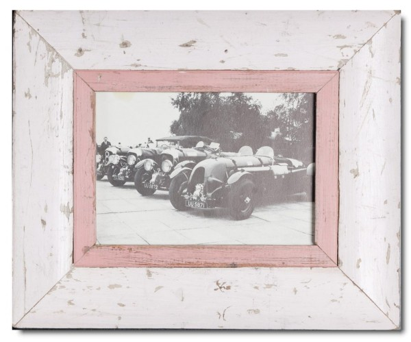 Bilderrahmen aus recyceltem Holz für Bildformat 14,8 x 21 cm