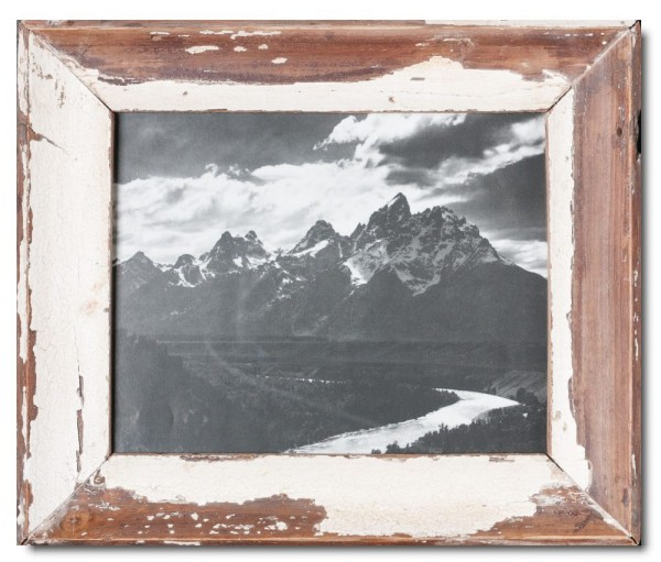 Basic Bilderrahmen aus recyceltem Holz für Bildformat 20 x 25 cm aus Kapstadt