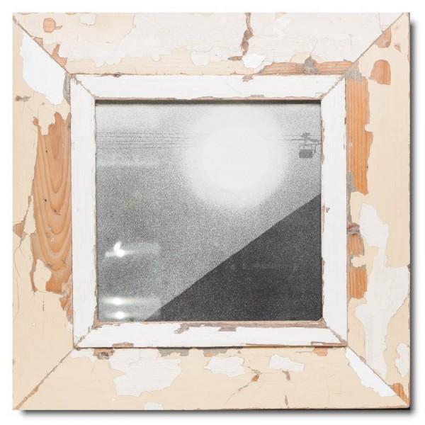 Altholz Bilderrahmen Quadrat für Fotogröße DIN A4 Quadrat