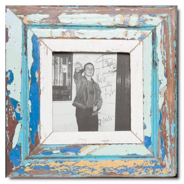 Altholz Bilderrahmen Quadrat für Bildgröße DIN A5 Quadrat aus Kapstadt