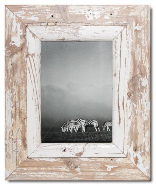 Breiter Altholz Bilderrahmen für Bildformat DIN A4 aus Südafrika