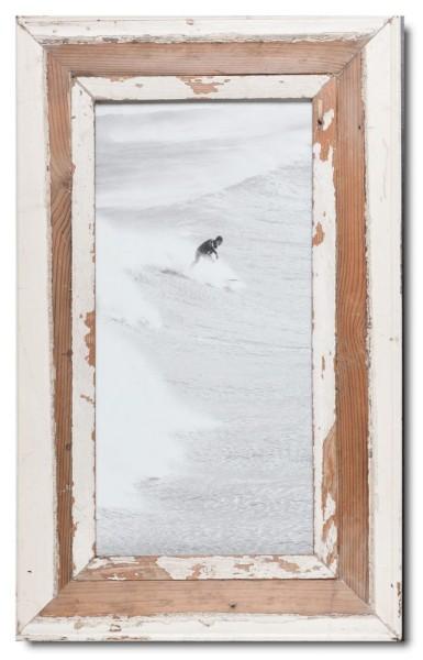 Panorama Bilderrahmen aus recyceltem Holz für Bildformat 2:1 aus Kapstadt