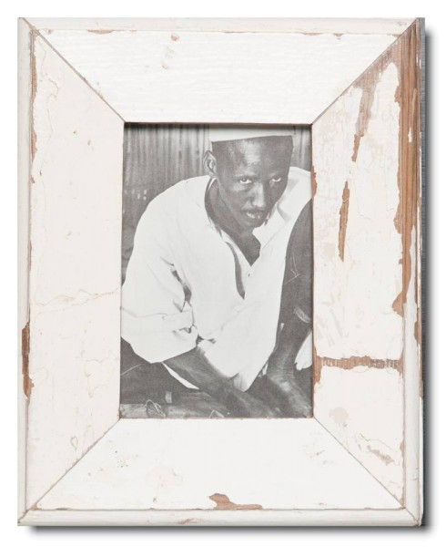 Basic Bilderrahmen aus recyceltem Holz für Fotogröße 10 x 15 cm