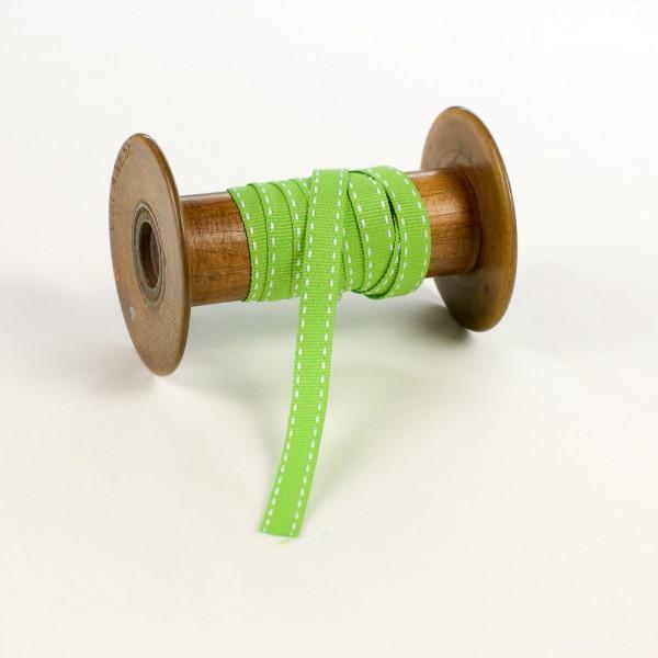 10mm Ripsband mit Sattelstich