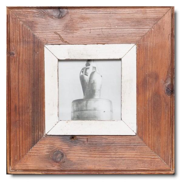 Altholz Bilderrahmen Quadrat für Fotoformat 10,5 x 10,5 aus Südafrika